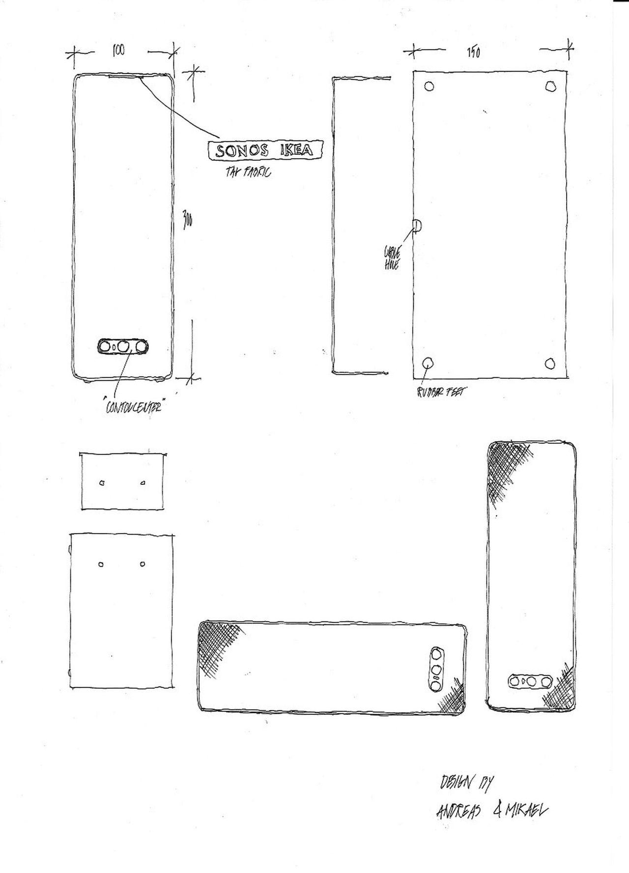 Sonos och IKEA visar upp skisser
