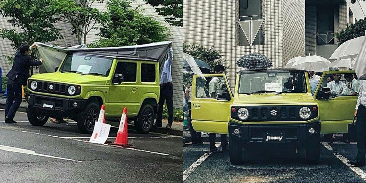 Nya Suzuki Jimny läcker