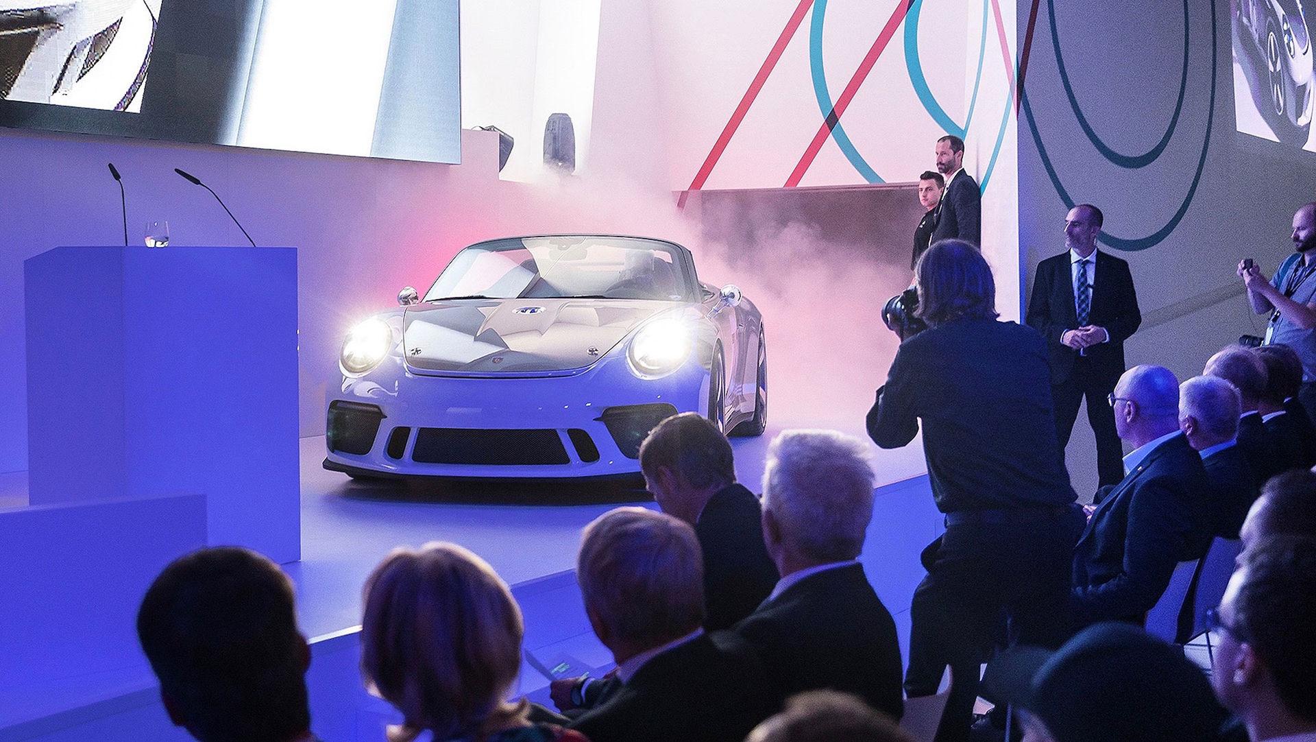 Porsche visar upp 911 Speedster Concept