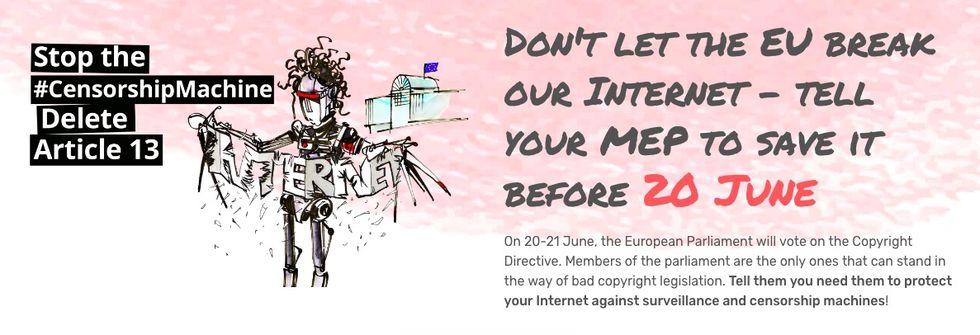 Stoppa Artikel 13