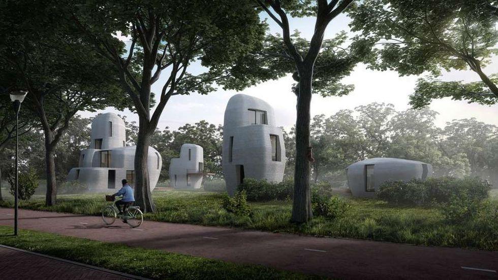 Nederländerna satsar på 3D-utskrivna hus