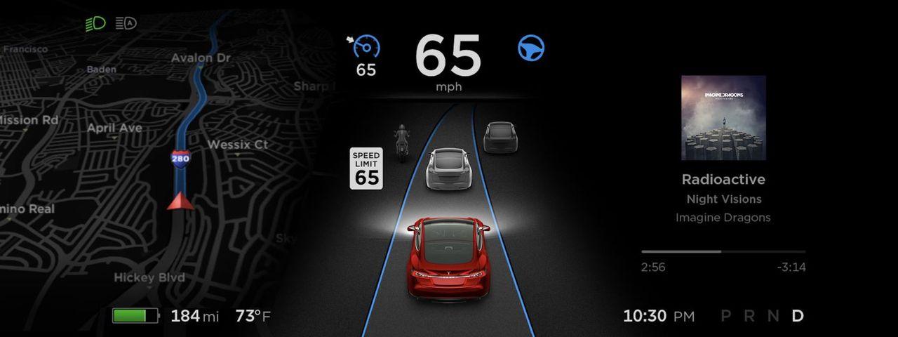Teslas Autopilot 9.0 kommer i augusti
