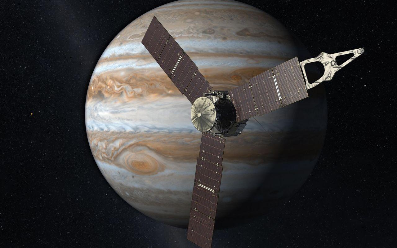 NASA förlänger Junos uppdrag med tre år