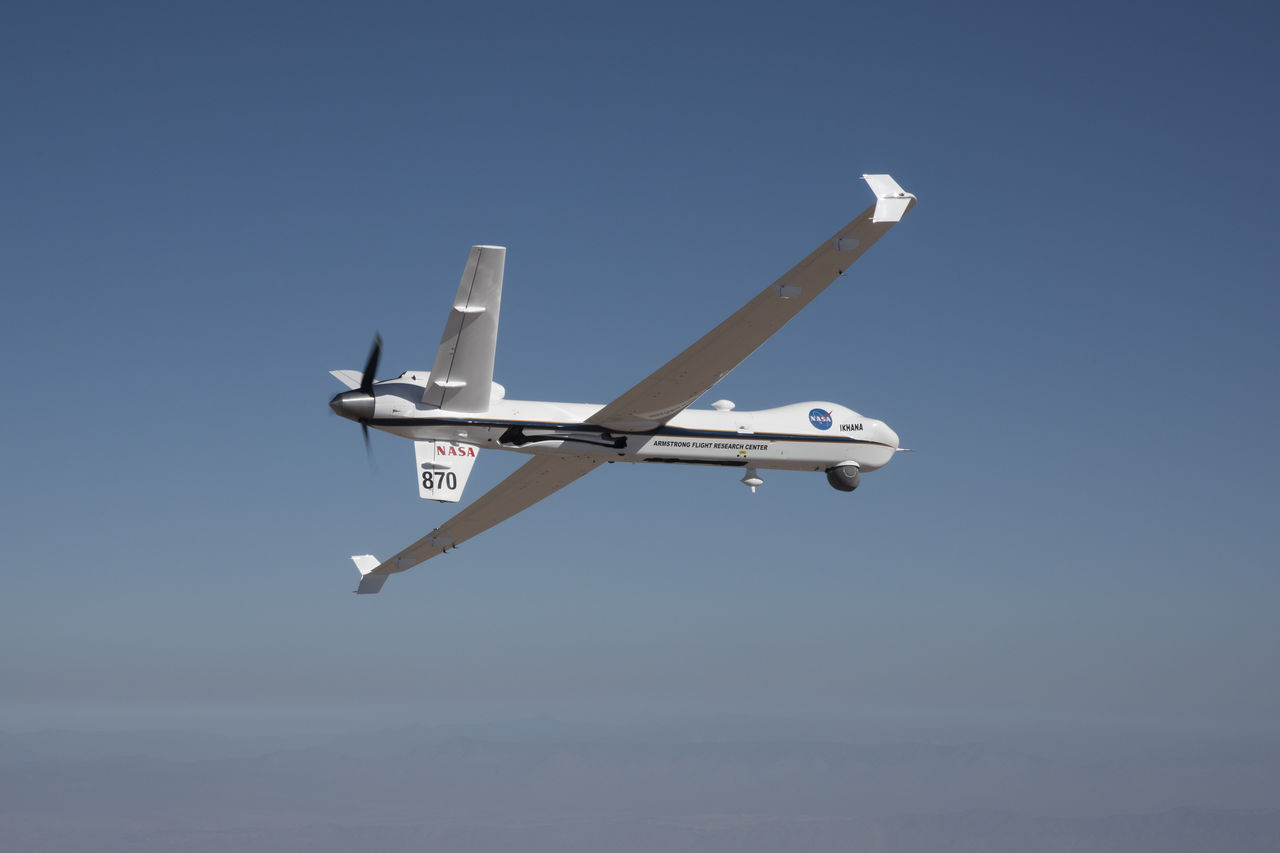 NASA har testflugit sitt obemannade flygplan Ikhana