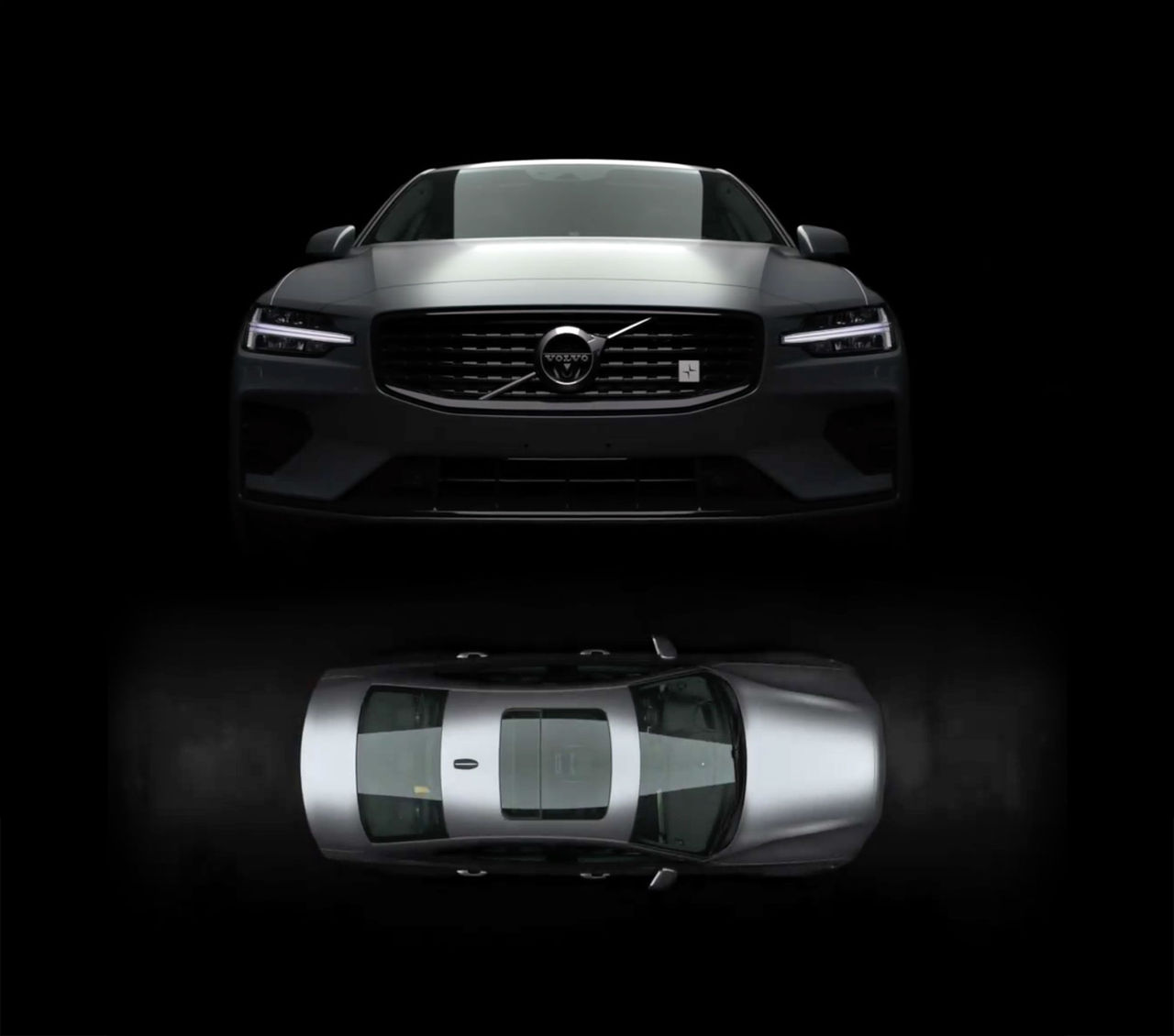 Polestar-fixad Volvo S60 visar nyllet