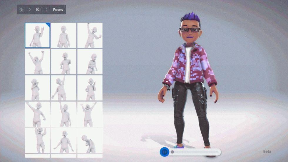 Microsoft släpper ny avatar-skapare till Xbox