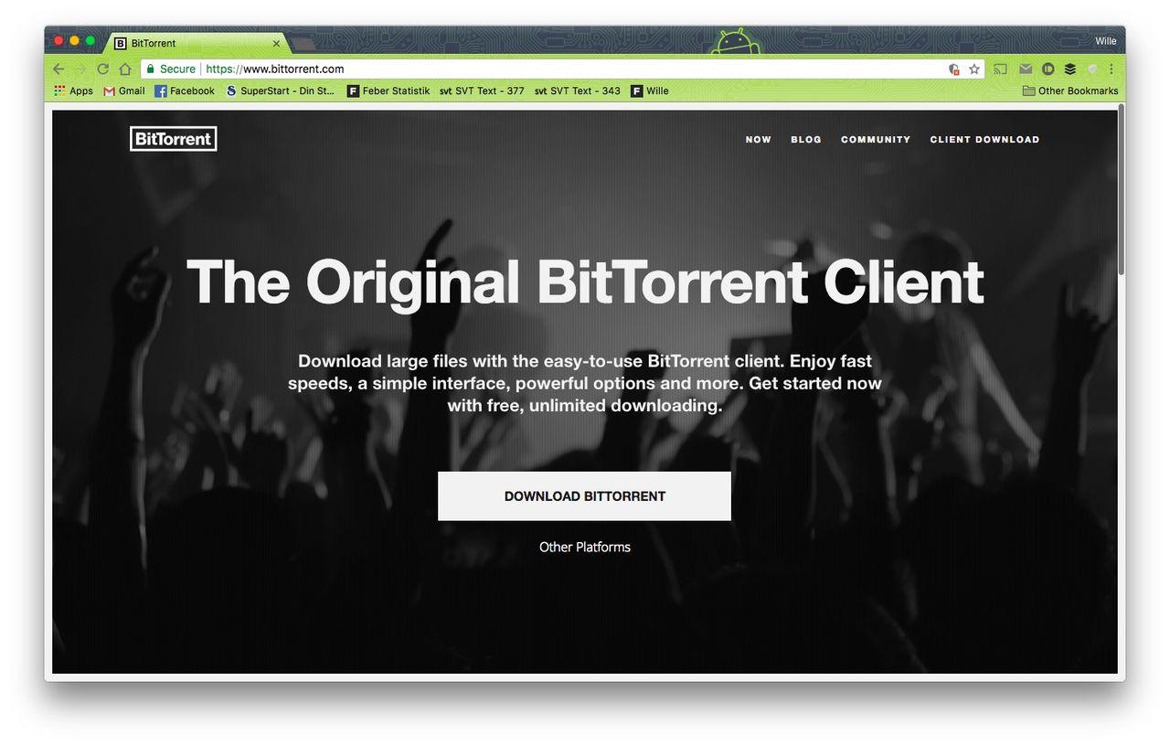 Tron köper BitTorrent