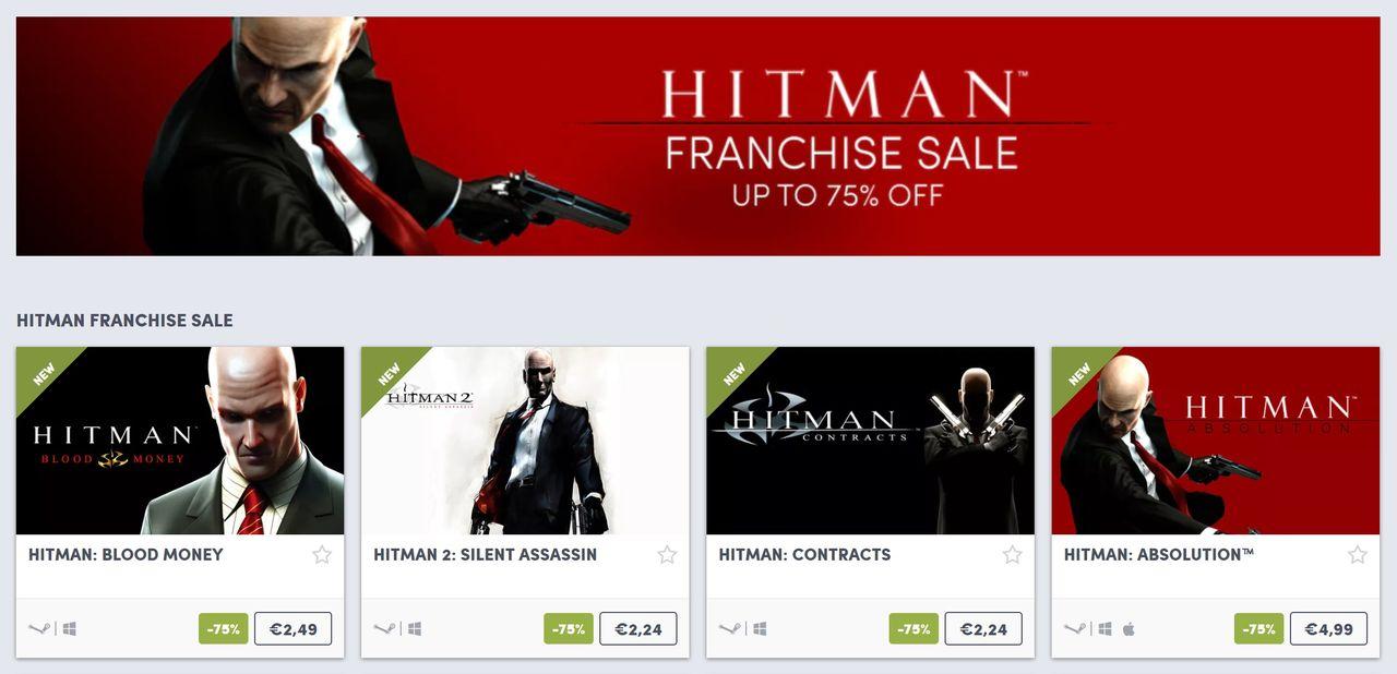 Humble Bundle erbjuder Hitman-spel för liten peng