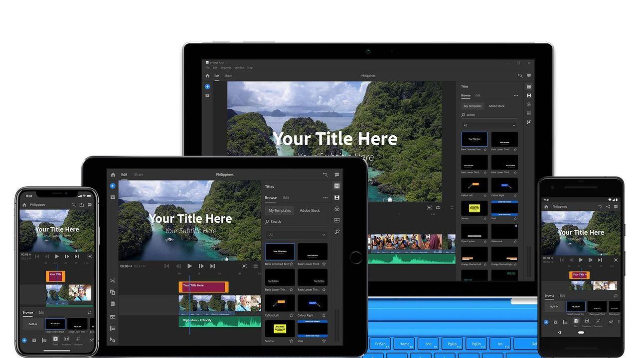 Adobe satsar på mobil videoredigering med Project Rush