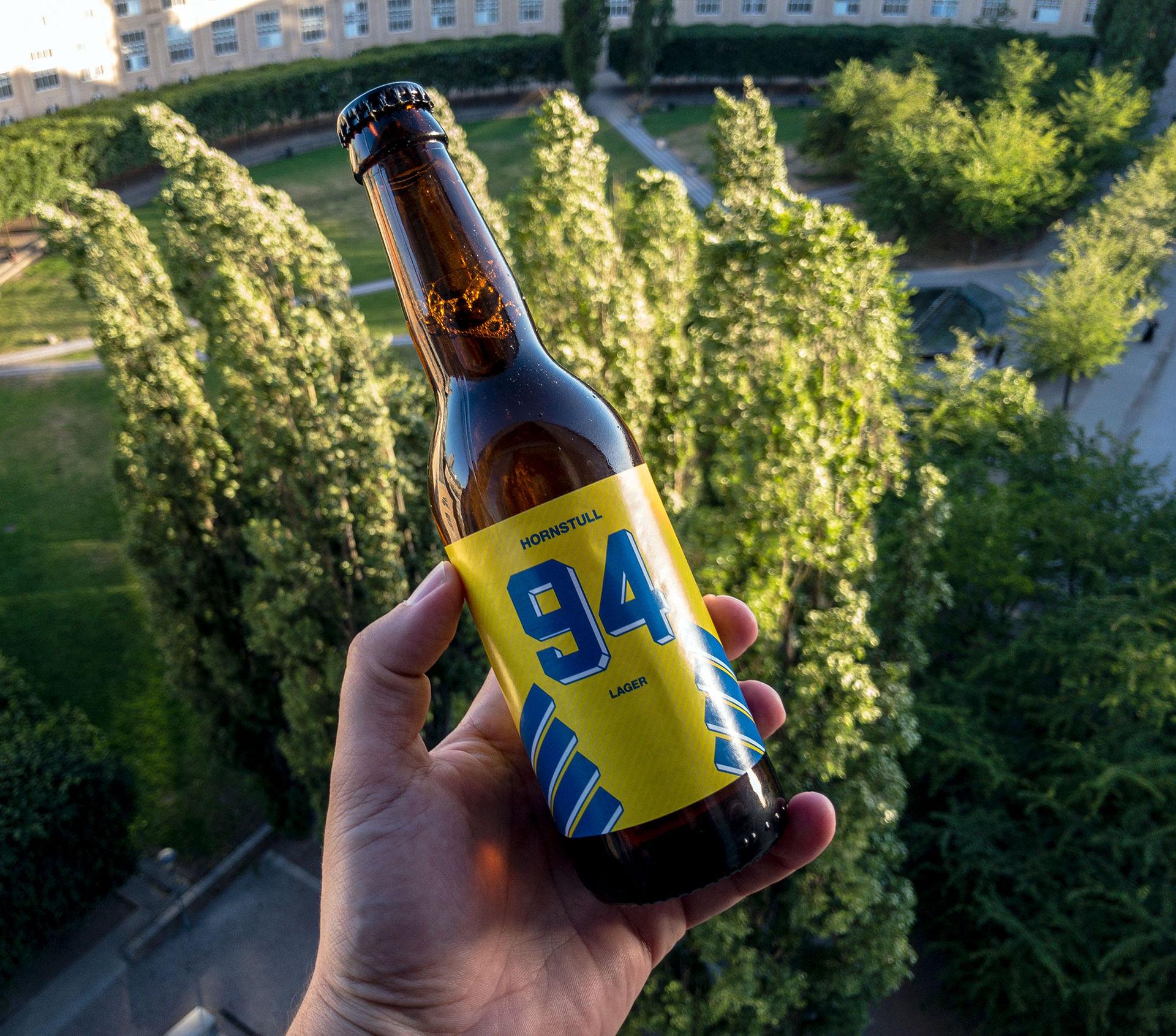 Hornstull har snickrat ihop en VM-öl