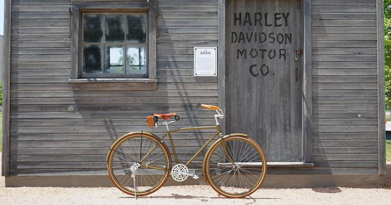 Harley-Davidsons trampcykel lever igen