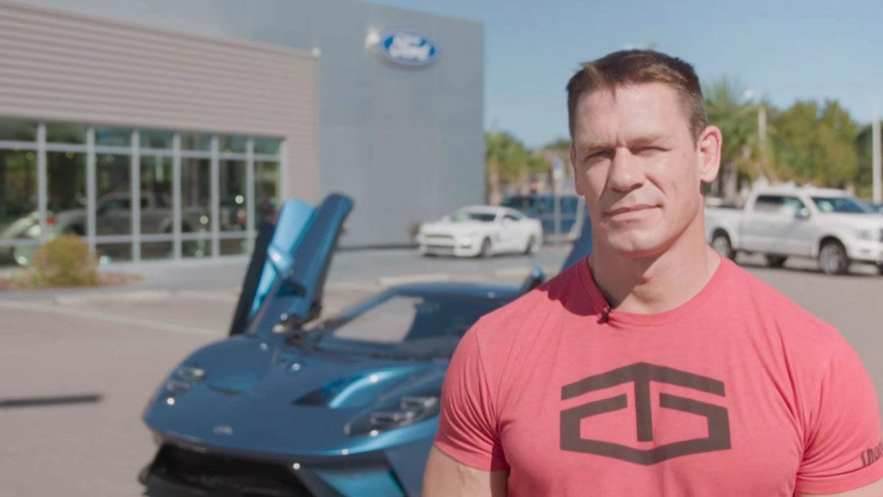John Cena och Ford har kommit överens