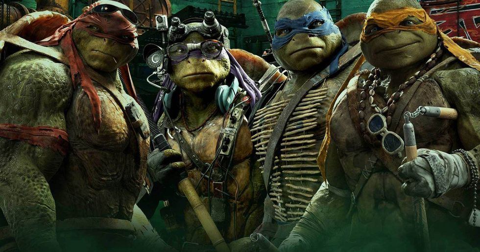 Ny Teenage Mutant Ninja Turtles på ingång