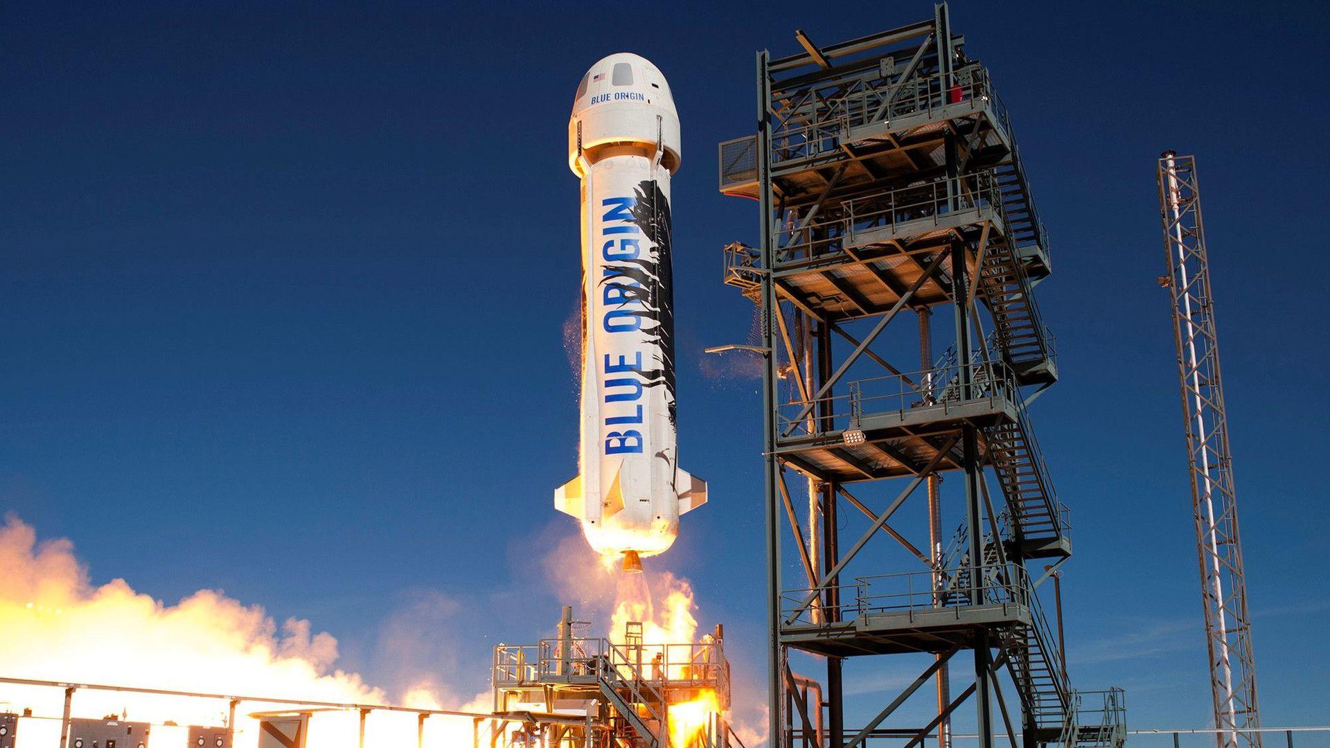 Blue Origin börjar sälja biljetter till rymden nästa år