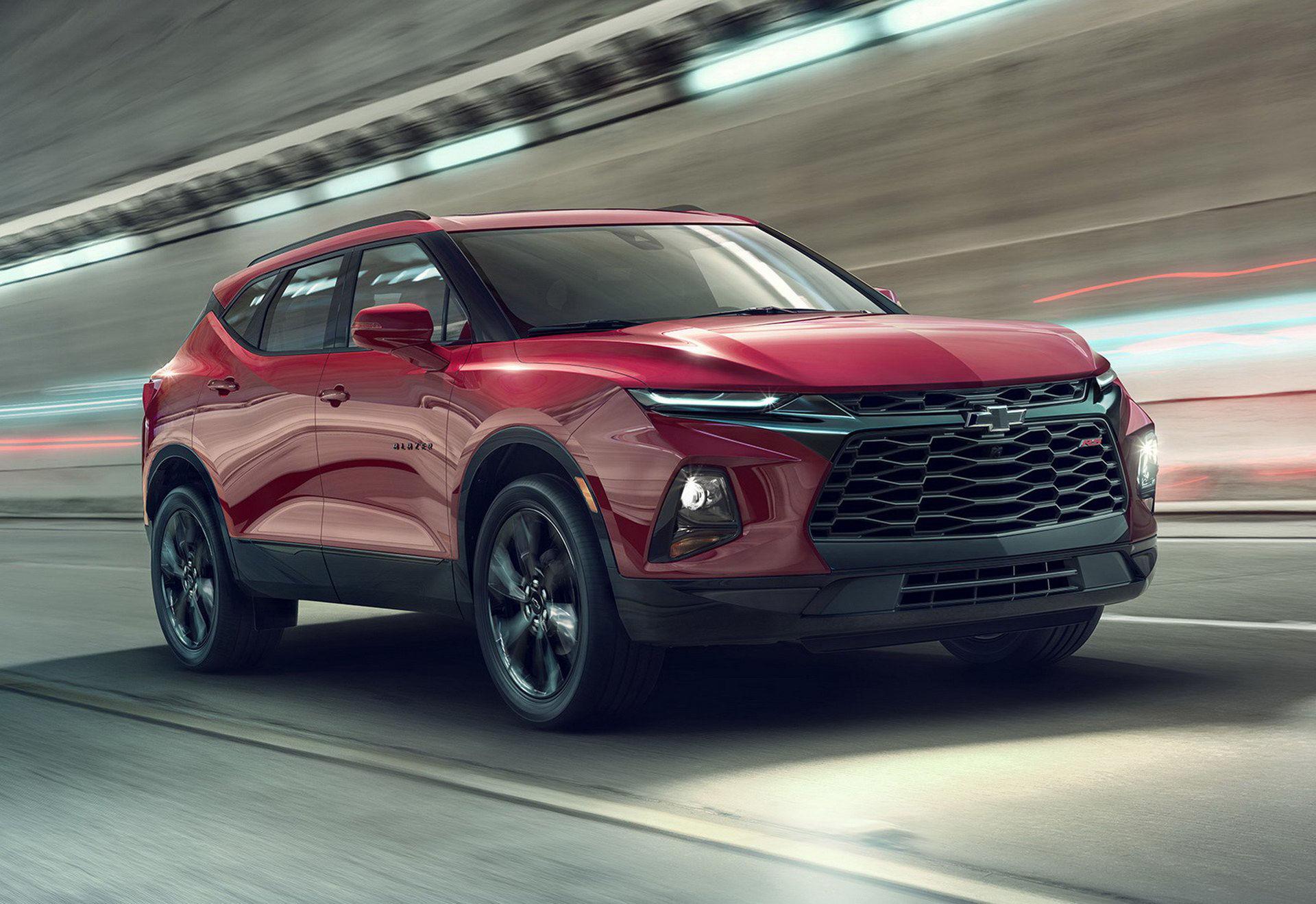 Chevrolet presenterar helt nya Blazer