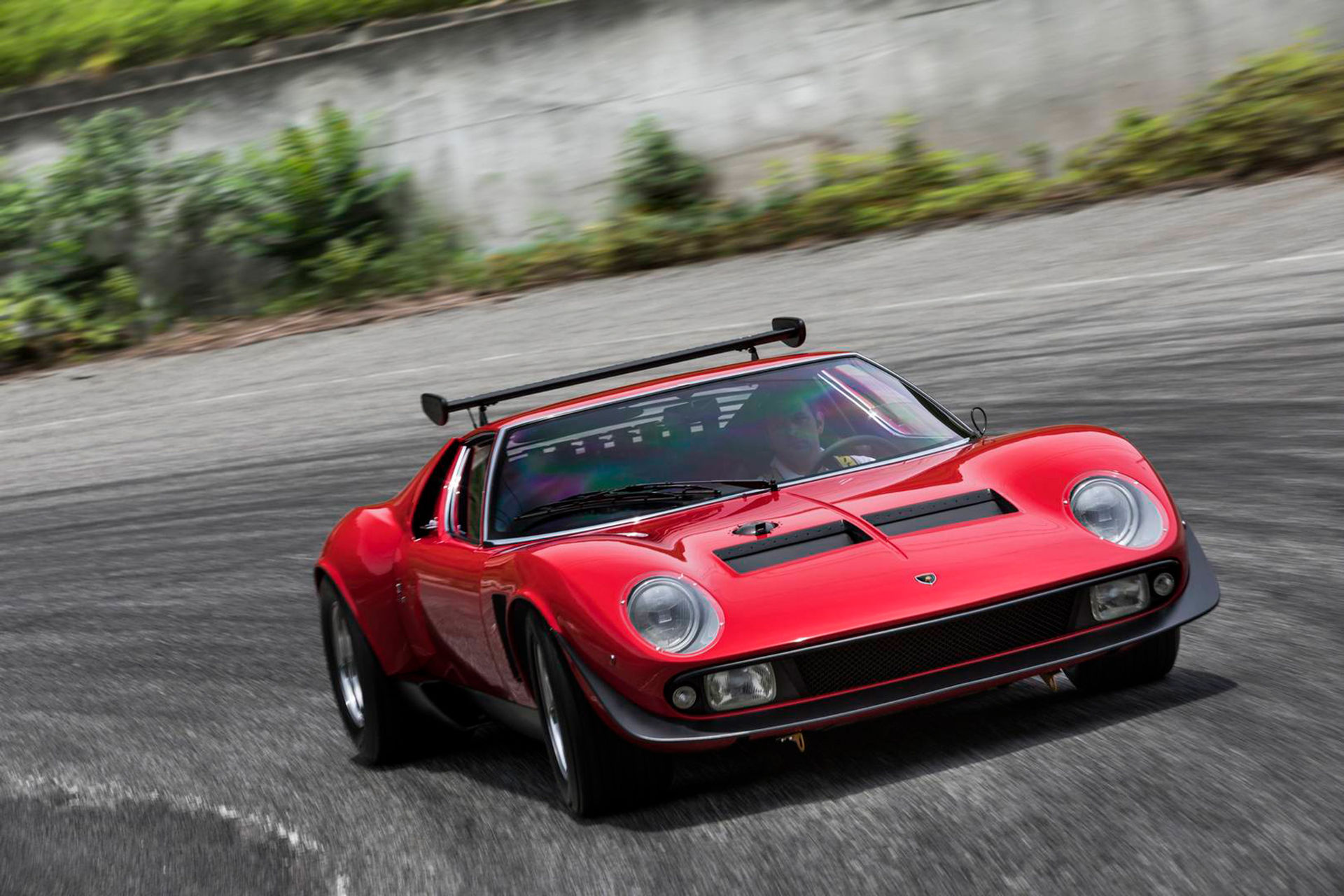 Världens enda Lamborghini Miura SVR har renoverats
