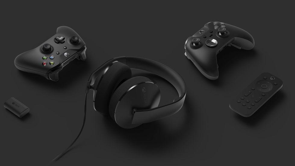 Tangentbordsstöd på ingång till Xbox One
