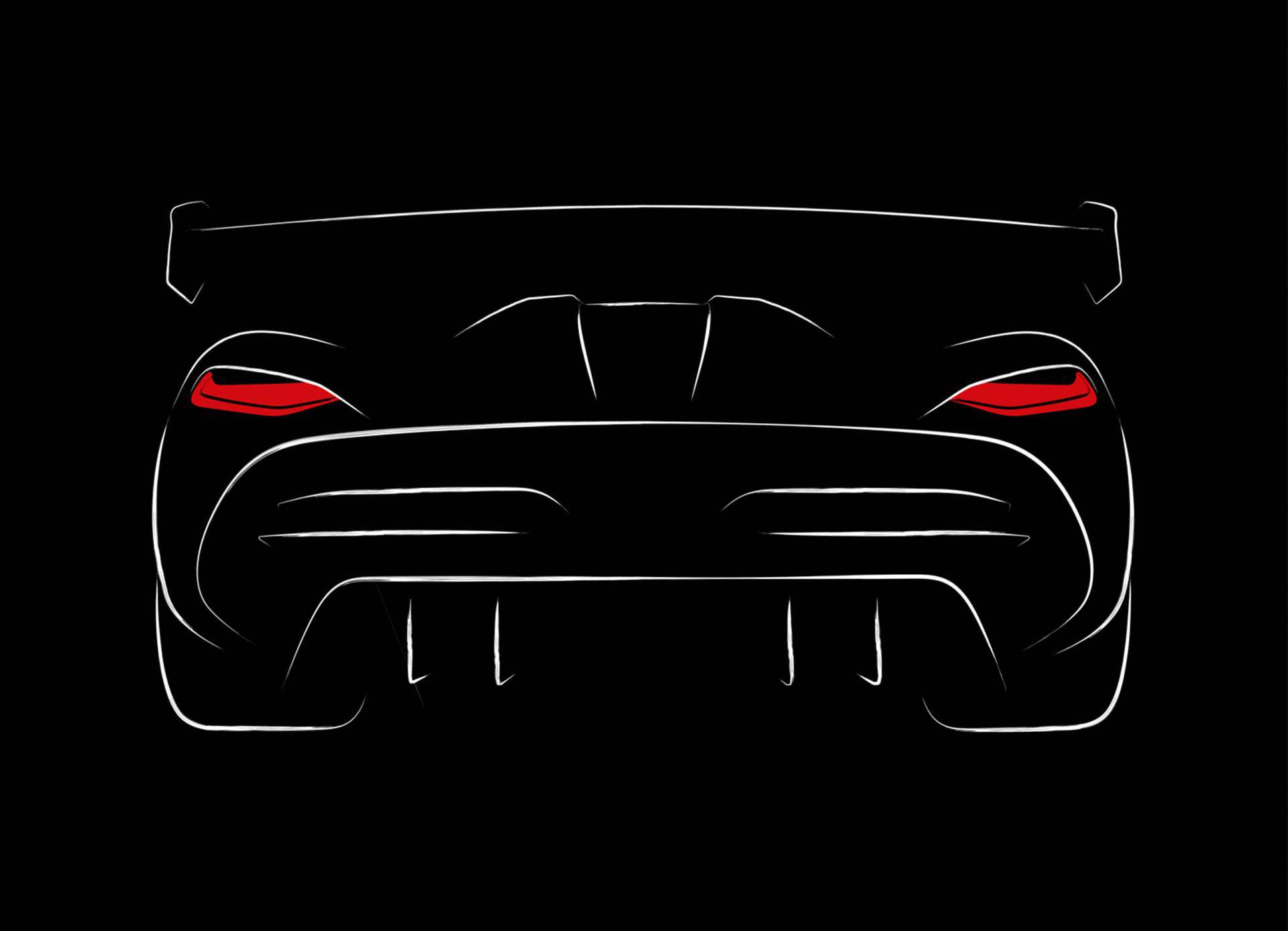 Koenigsegg teasar Ageras uppföljare