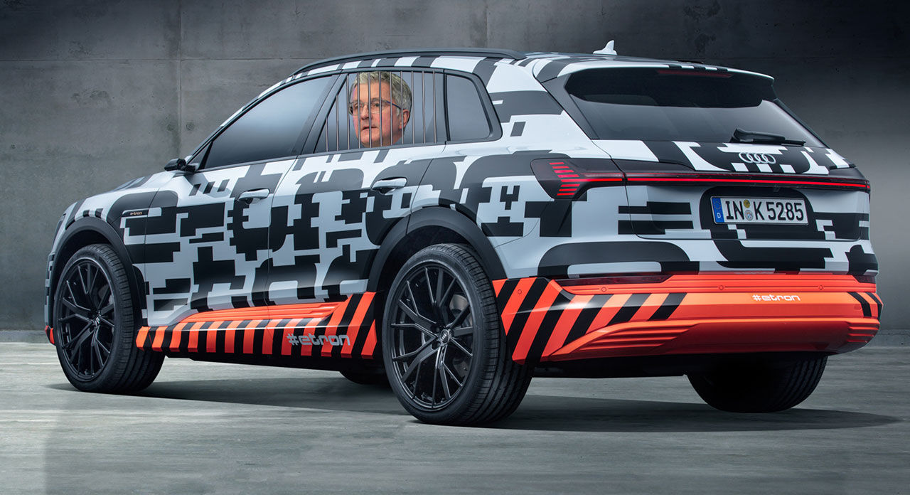 Audi skjuter fram premiären av den eldrivna suven