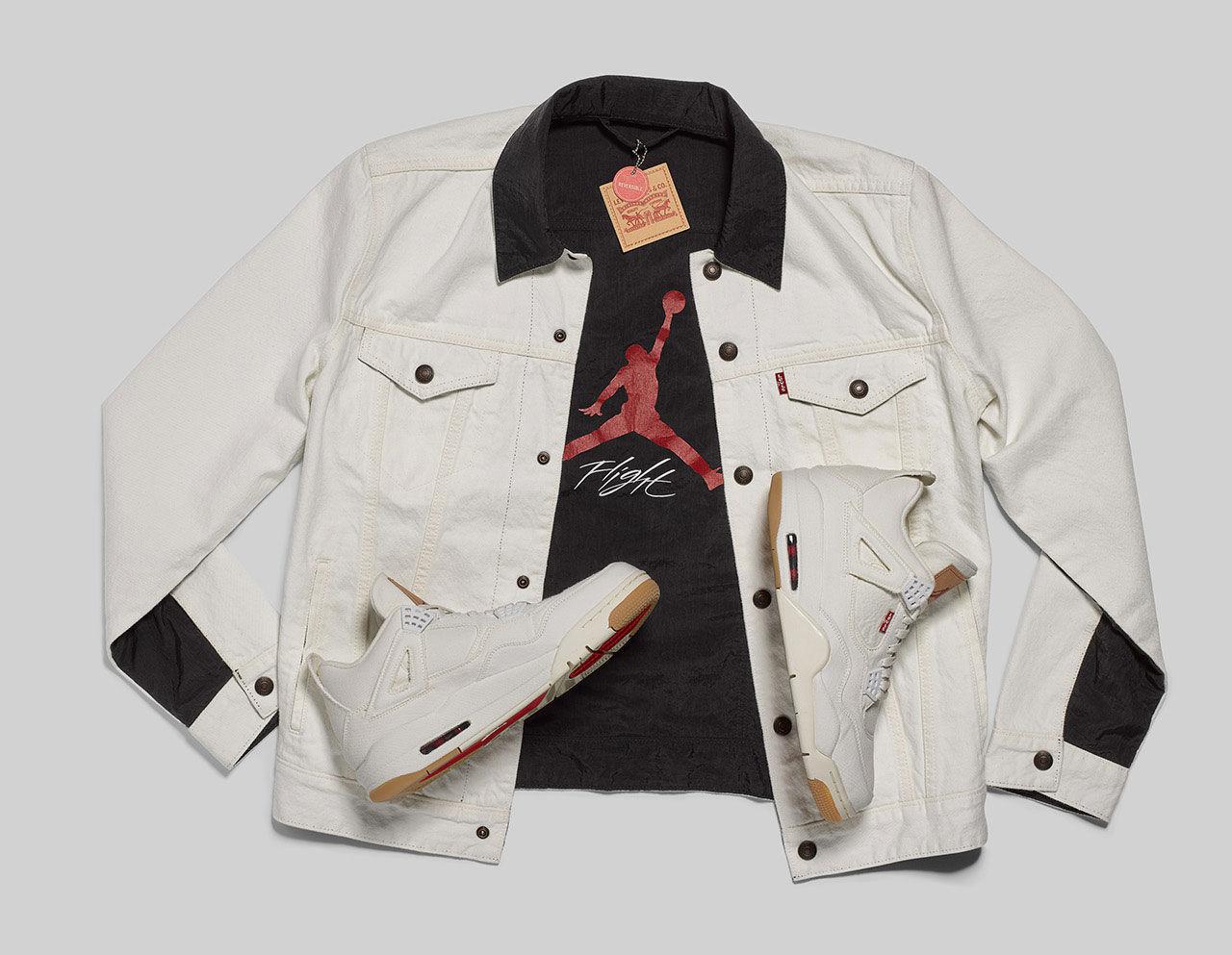 Nya kläder och skor från Levi's och Jordan