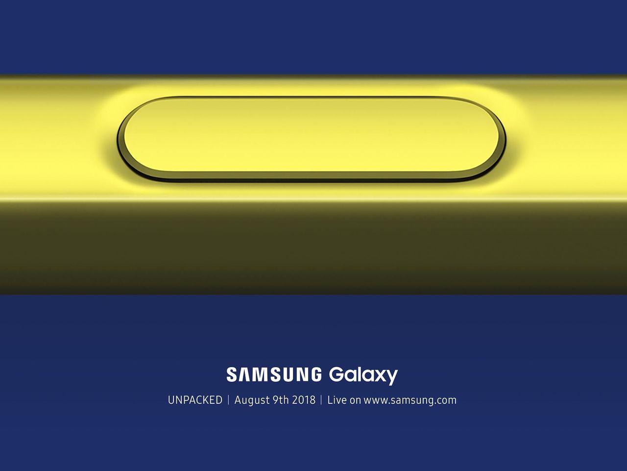 Samsung håller låda 9 augusti