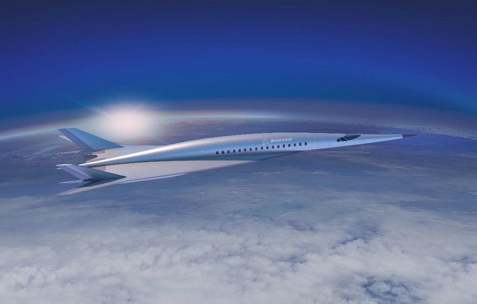 Boeing visar upp koncept på överljudsplan