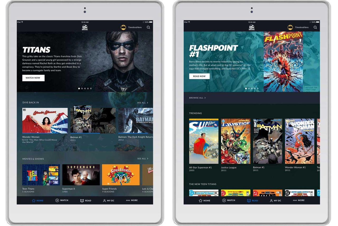 DC Comics lanserar streamingtjänst i augusti
