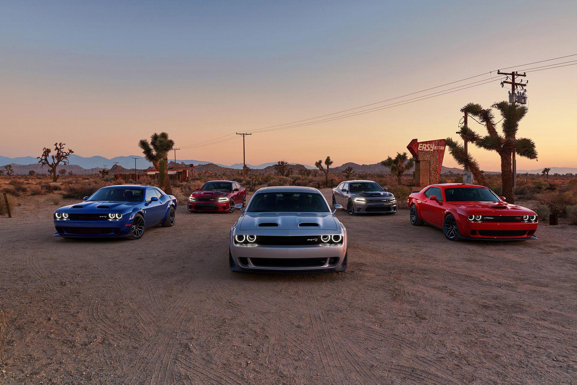 Dodge uppdaterar Charger och Challenger