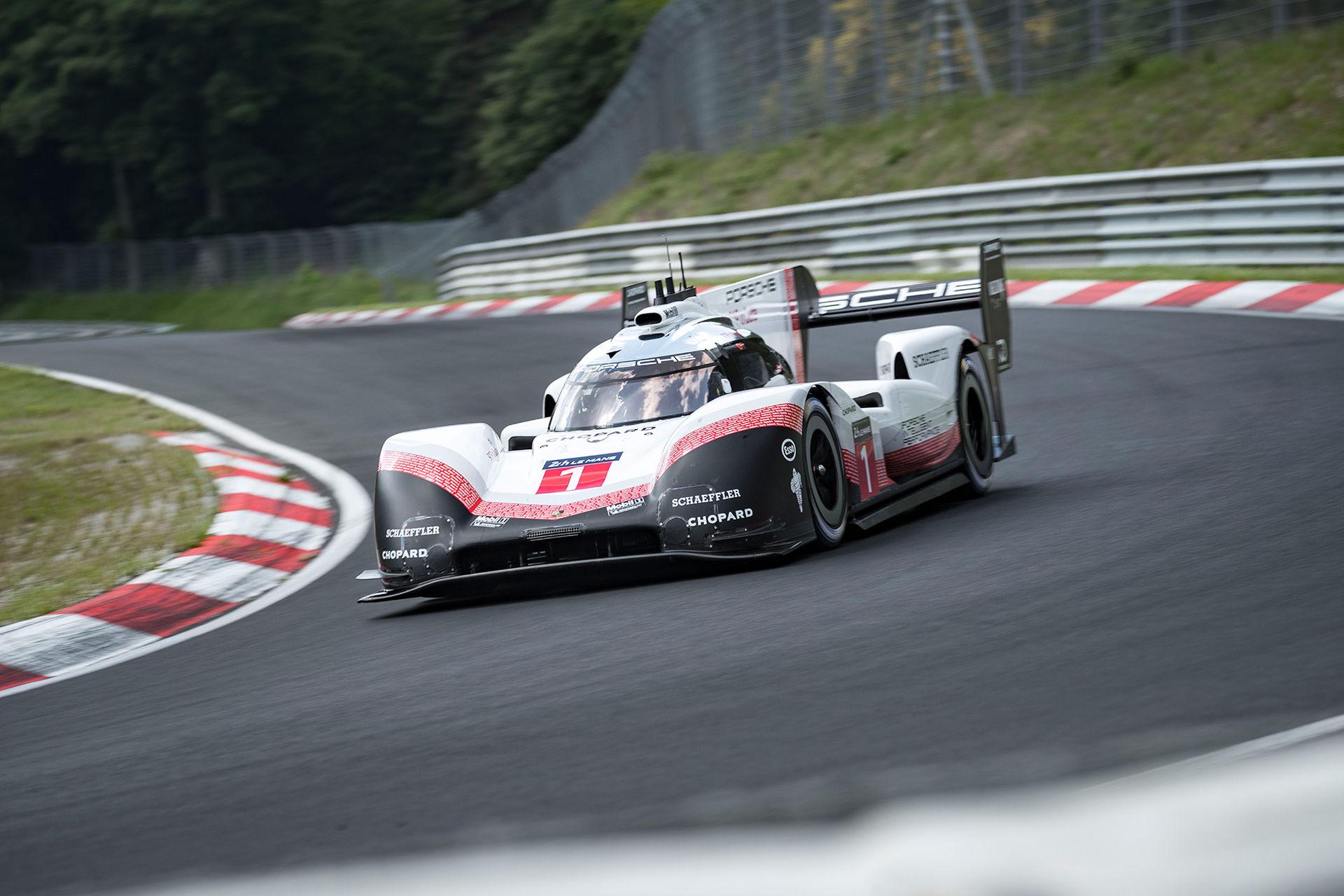 Porsche sätter nytt varvrekord på Ringen
