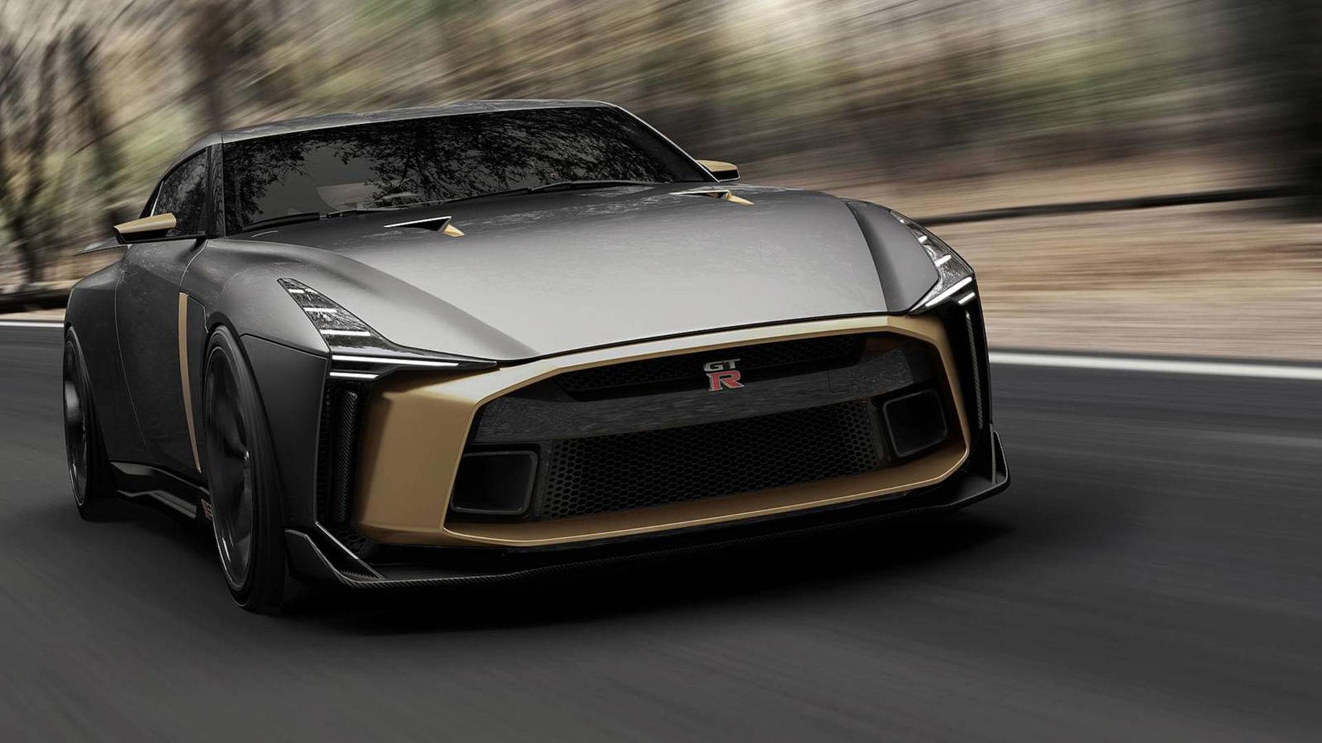 Nissan och Italdesign har byggt en GT-R