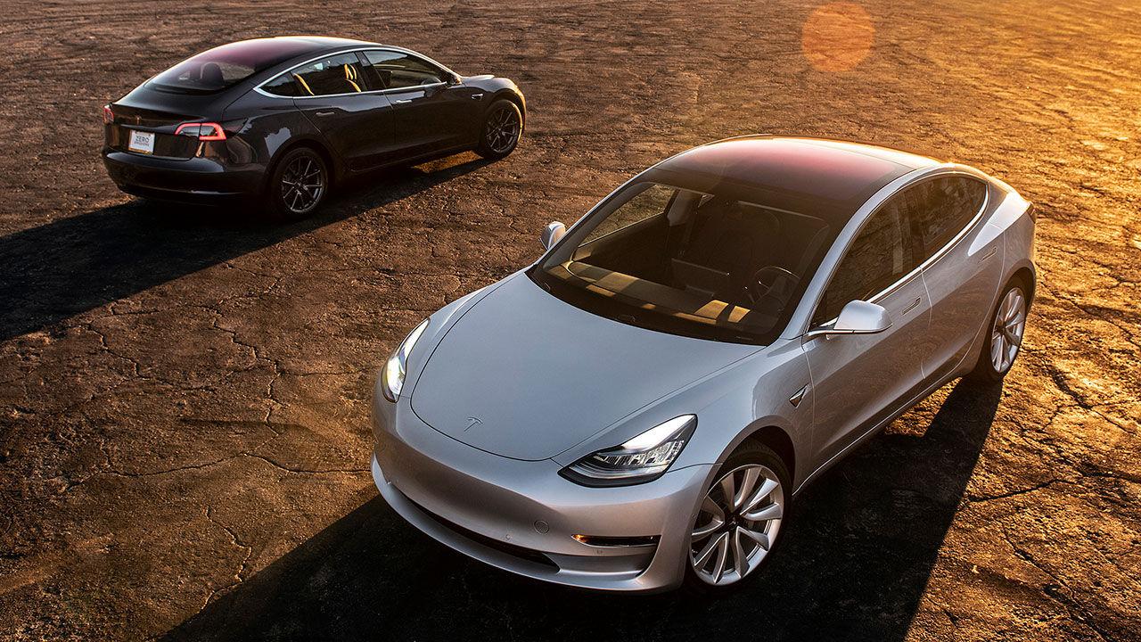 Tesla bygger nu nästan 5.000 stycken Model 3 i veckan