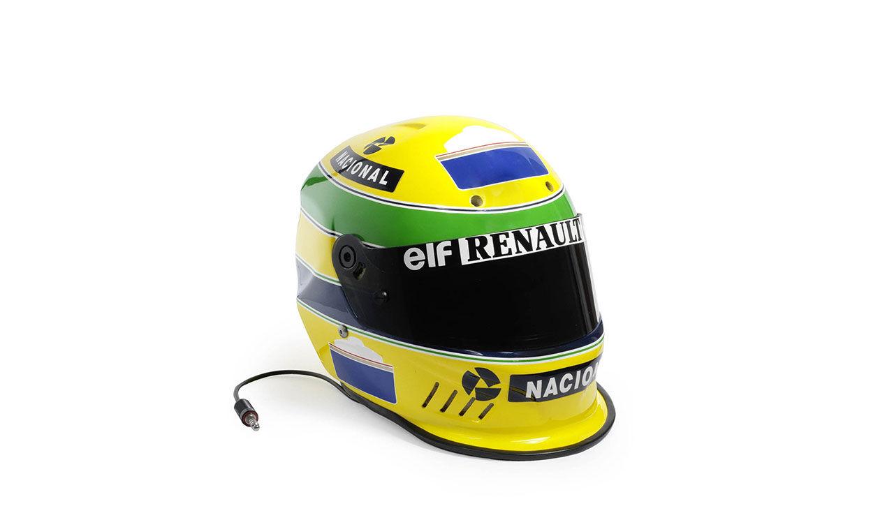 Köp Ayrton Sennas hjälm