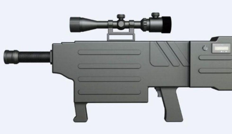 Kina har utvecklat lasergevär