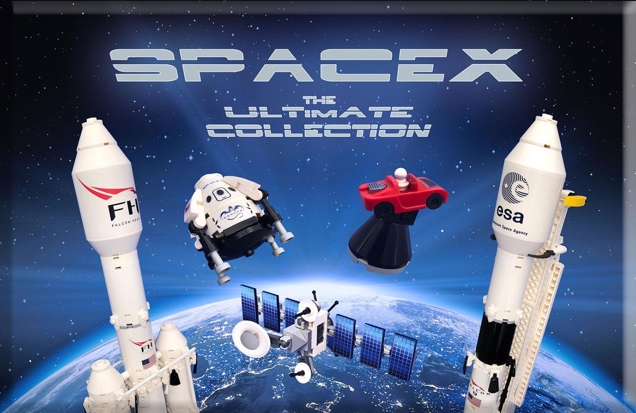 Fans har skapat SpaceX-Lego