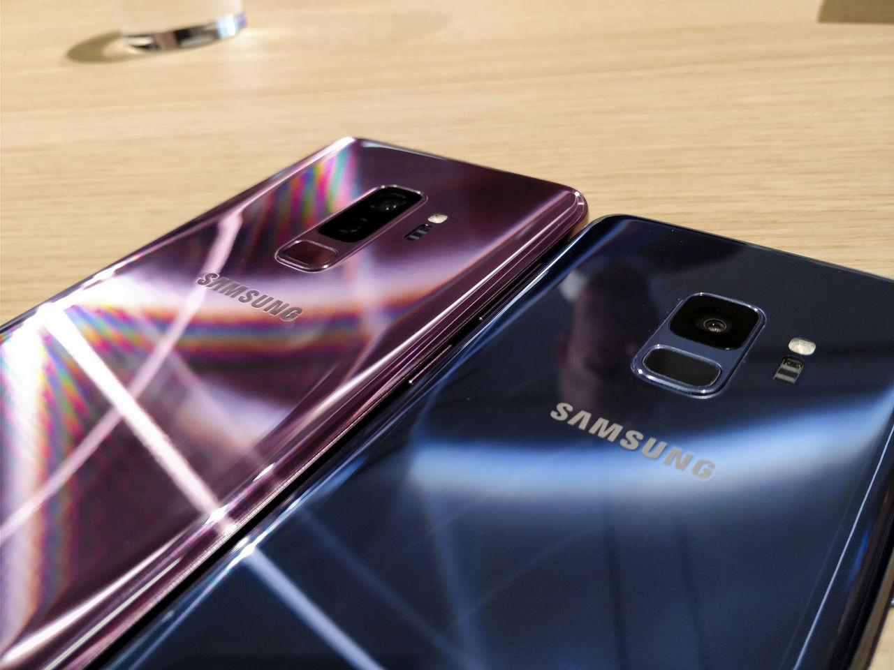 Samsung-telefoner sms:ar bilder av sig själv