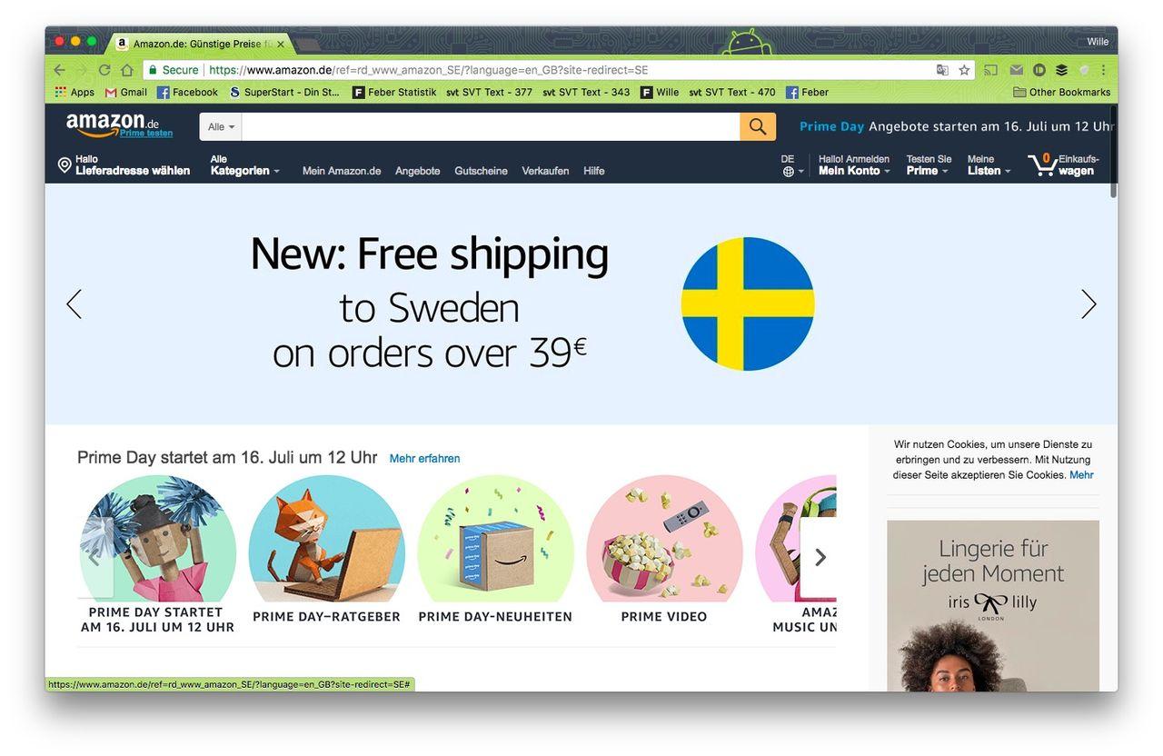 Amazon Och Postnord Har Snackat Logistik Svensk Lansering Av Amazon Allt Narmare Feber Internet