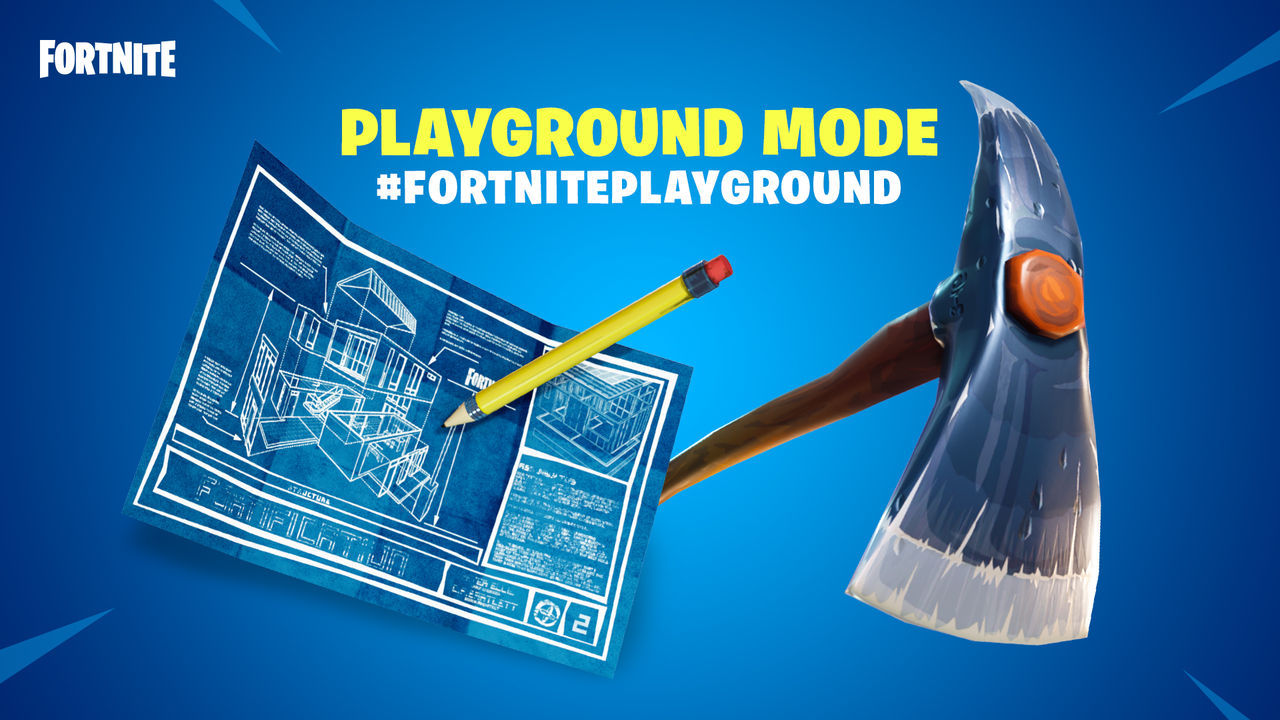 Playground-läge i Fortnite ute nu