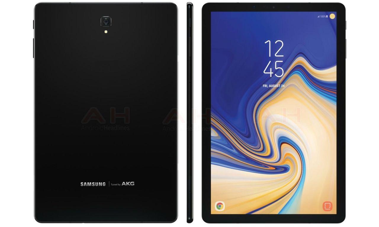 Bildläcka visar Samsung Galaxy Tab S4