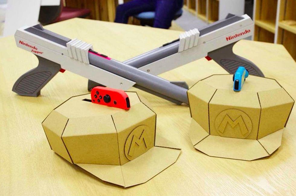 Nintendo-fans gör laser-tag-spel med Nintendo Labo