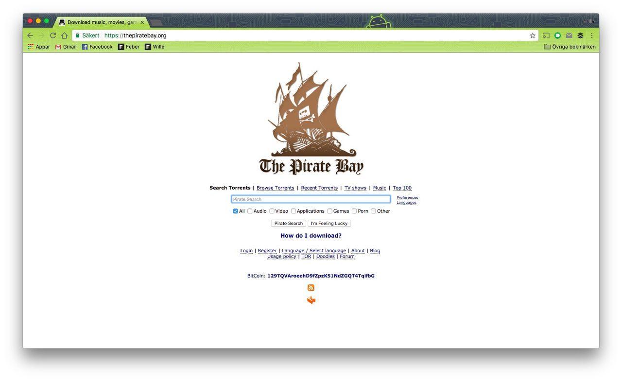The Pirate Bay har börjat generera kryptovalutor igen