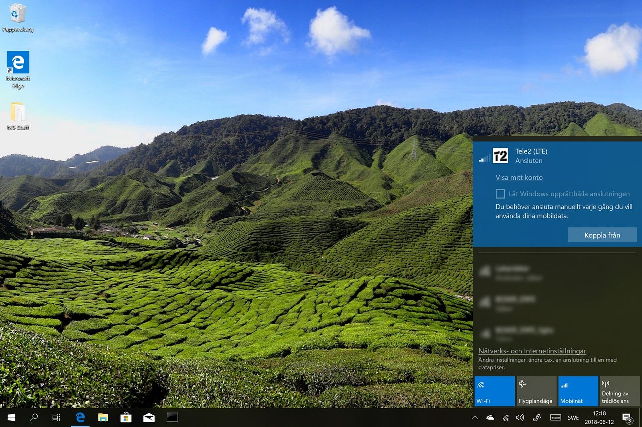 Tele2 först ut med eSim till Windows 10 i Sverige