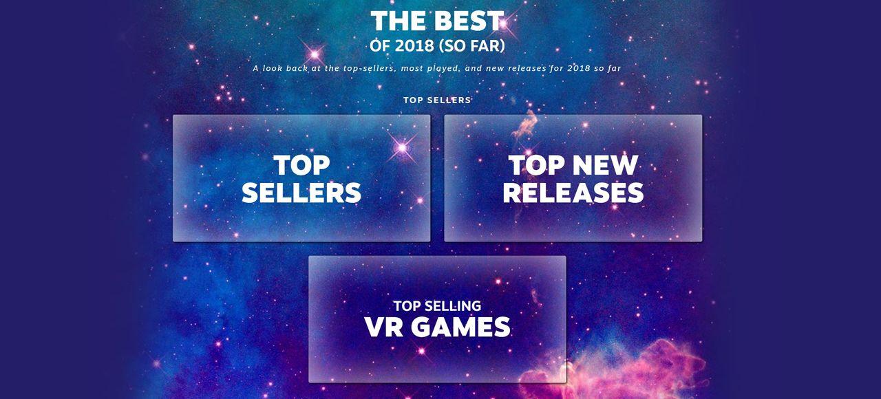 Valve listar årets hittills mest sålda spel på Steam