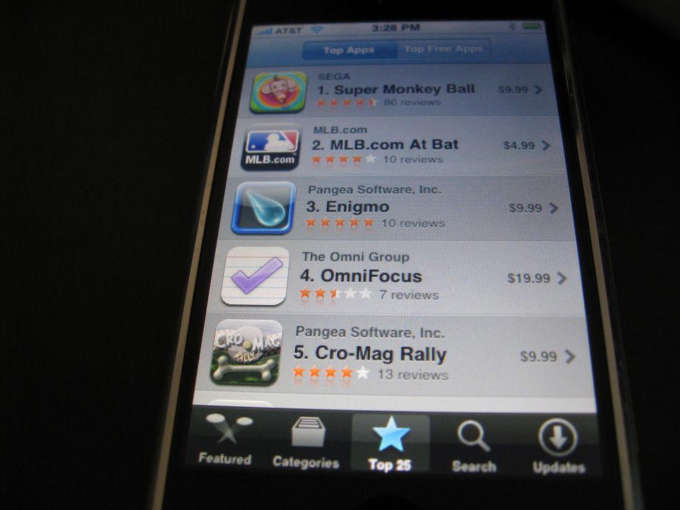 Tut i luren - App Store fyller 10 år