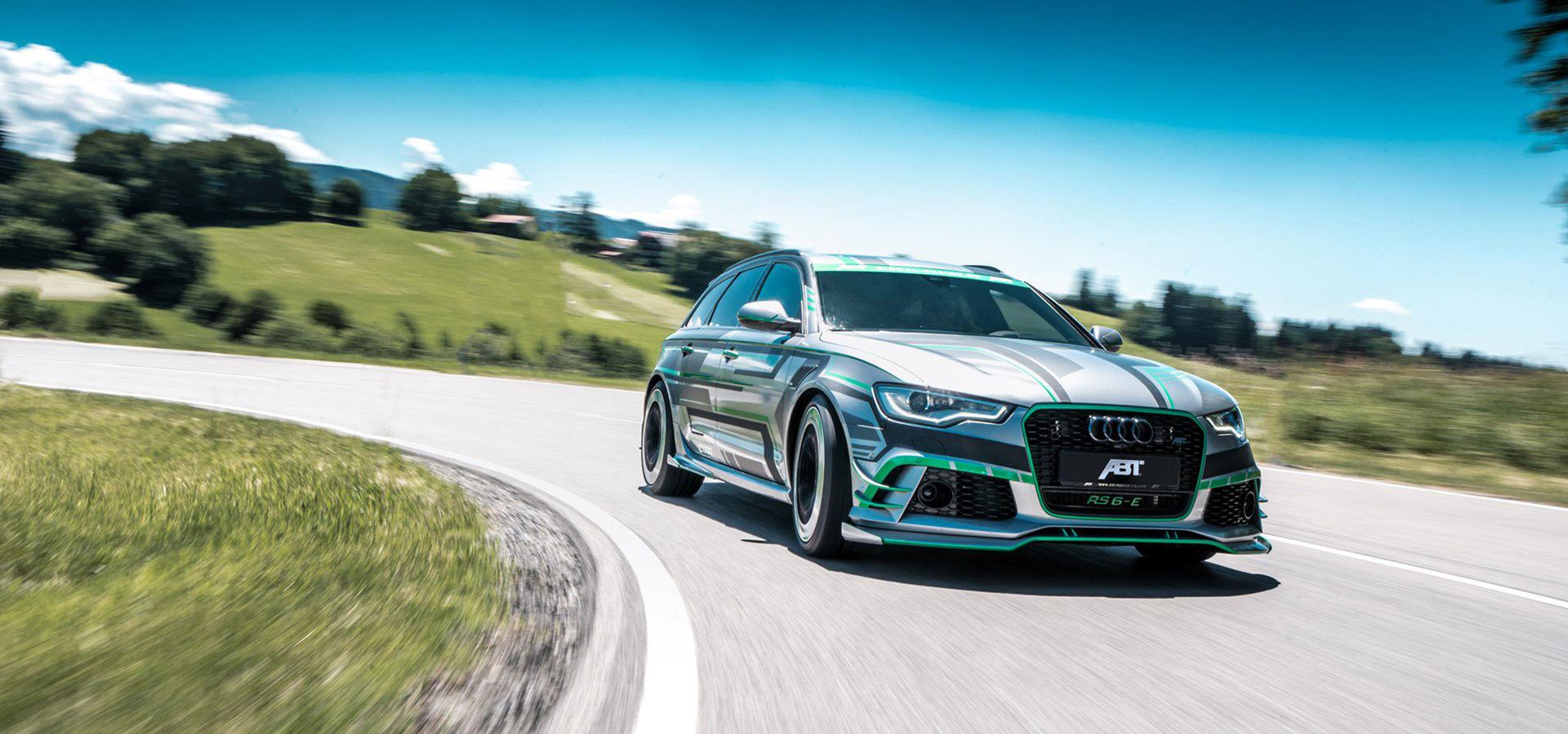 ABT har byggt en Audi RS 6 med extra el-knuff