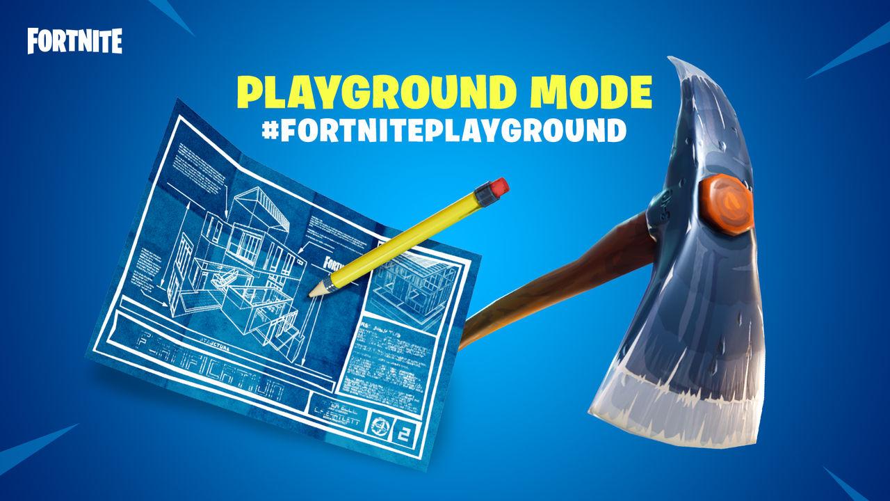 Playground-läget i Fortnite endast tillgängligt en vecka till