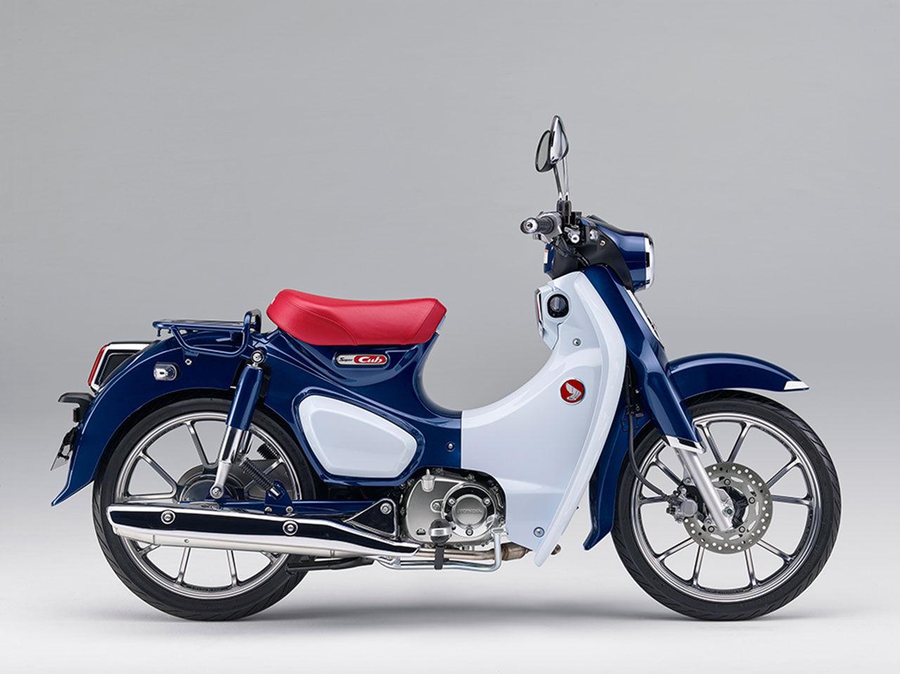 Honda uppdaterar Super Cub
