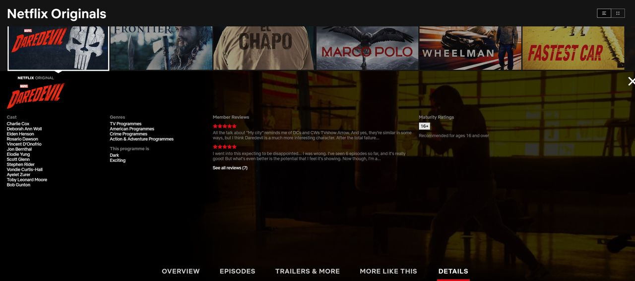 Medlemsrecensioner försvinner snart från Netflix