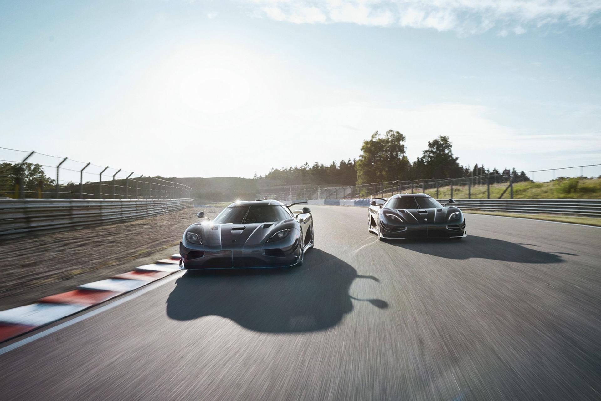 Nu är de här - Koenigsegg Thor och Väder