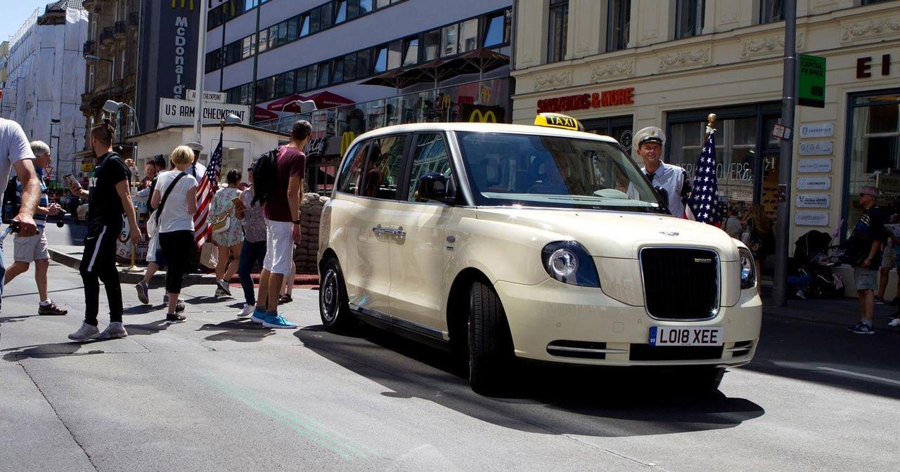 Nu ska Londontaxin ta över världen