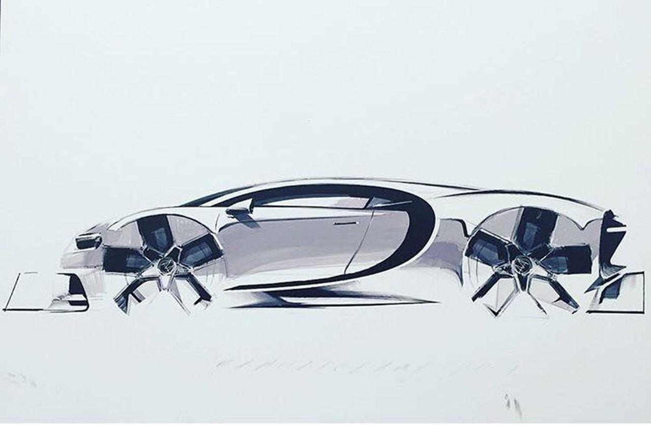Ny specialversion av Bugatti Chiron på väg
